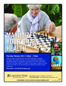 Lakeside Park Talk Memory Care