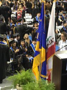 Savyon Sordean Front Row Graduation